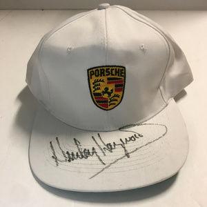 780792f9818 Porsche baseball cap.  16  38. Porsche Cap Autographed By Hurley Haywood